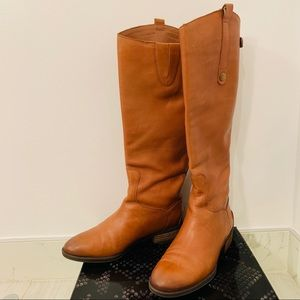 Sam Edelman Penny Boot in Whiskey - Size 7